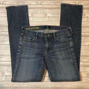 J. Crew Matchstick Skinny Jeans